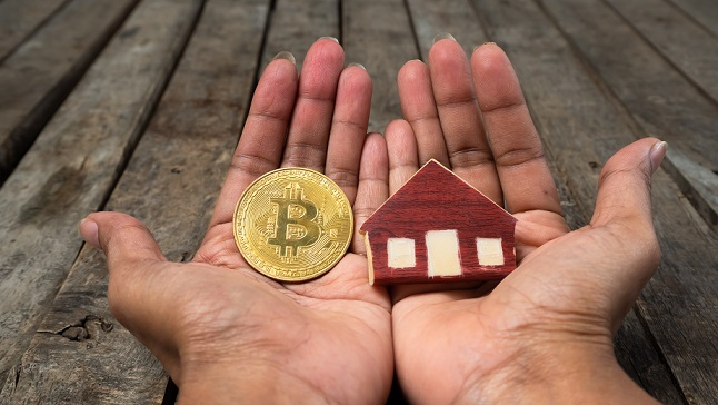 When Real Estate and Bitcoin come together